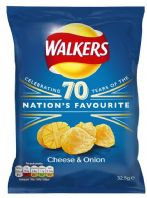 Walkers Crisps Cheese & Onion 32 x 32.5gm